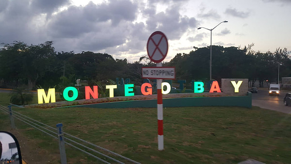 Montego Bay Highlignts - Welcome Sign